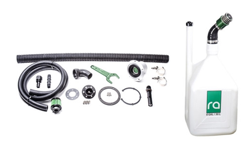 Radium Complete Refueling Kit, Remote Mount, 1.5in Dry Break