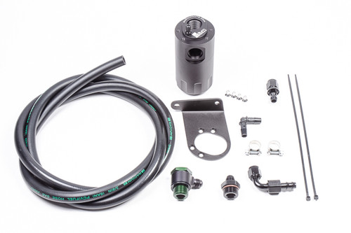 Radium Catch Can Kit, PCV, Nissan R35 GT-R Each kit features the following: -Anodized oil catch can(s) with integrated condenser and dipstick(s) -Anodized aluminum R35 GT-R specific mounting brackets -Anodized aluminum -AN adapter fittings and hose ends -Stainless steel mounting hardware -Radium Engineering PCV hose
