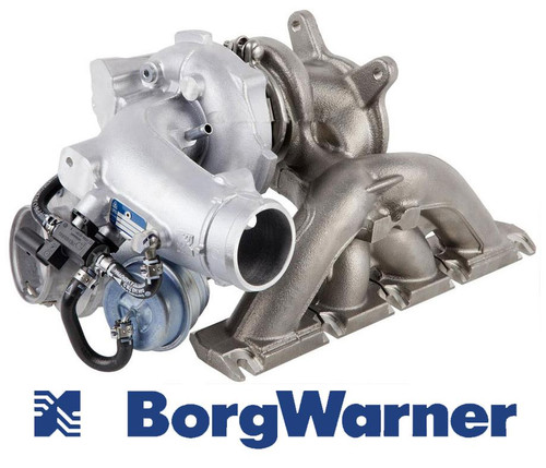 BorgWarner Turbocharger Audi S3 2.0 TFSI New Genuine BorgWarner K04 Turbochargers fits: Audi S3 Sport TFSI 265bhp 2.0 TFSI 2006 onwards