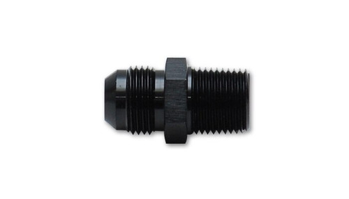 "Vibrant Performance Straight Adapter Fitting; Size: -3AN x 3/8"" NPT"