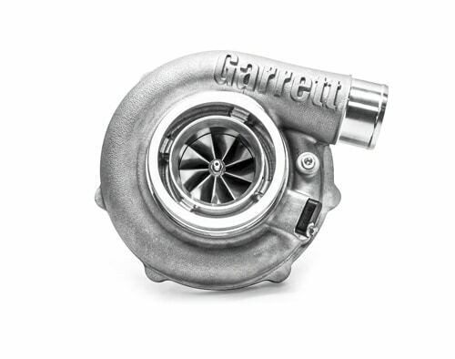 """Garrett G30-900 Turbocharger Assembly, Turbine Housing V-Band/V-Band A/R 0.61 Horsepower: 550 - 900HP Displacement:2.0 - 3.5L Garrett®G Series Compressor Aerodynamics for maximum HP. Fully machined Speed Sensor and pressure ports. New Turbine Wheel Aero constructed of MAR-M alloy rated 1055ºC. Stainless Steel wastegated and non wastegated turbine housing option capable of 1050°C. Oil restrictor and water fittings included. Compressor side: TRIM 65 A/R 0.72 Compressor Air Inlet: Hose 4"""" Compressor Air Outlet: Hose 2"""" Turbine side: TRIM 84 A/R 0.61 Turbine Inlet: V-Band 3"""" Turbine Outlet: V-Band 3.55"""""""