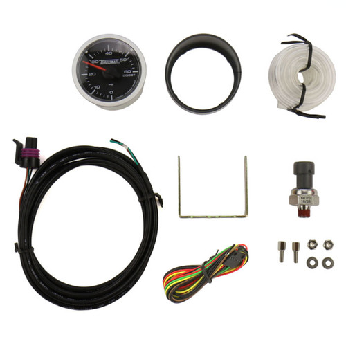 Turbosmart Gauge - Electric - Boost Only 60 PSI Designed specifically for turbo diesel vehicles