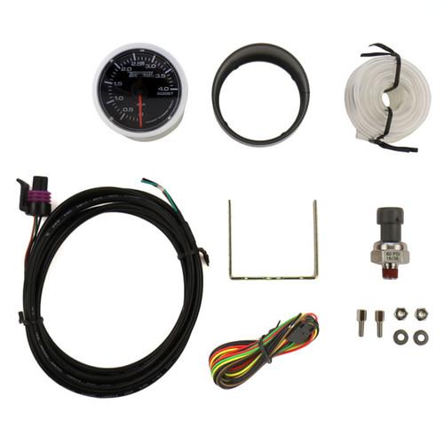 Turbosmart Gauge - Electric - Boost Only 4 Bar Electric 4 Bar boost-only gauge for diesel vehicles.