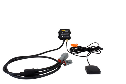 AEM Vehicle Dynamics Module, 10HZ GPS w/ IP67-Rated Antenna, 3-Axis Accelerometer, 3-Axis Gyrometer, AEMnet CAN bus Connector Simply install it in the correct position, connect to AEMnet and the data streams through AEMnet CANbus! Ideal for road racers who want to use the gyrometer data for suspension adjustments Perfect for drag racers who want to see and log G-loads View vehicle speed, latitude longitude, altitude, course and satellite count GPS latitude & longitude delivers AEMdata track map functionality via AEMnet CANbus Add GPS, lateral G, altitude, pitch, roll and yaw data to data logs for analysis and lap comparisons View lap times on CD-7 Digital Dash Can be used to drive an odometer feature 50Hz Accelerometer and 50Hz gyroscope supply all 3-axis acceleration, pitch, roll and yaw data for chassis tuning 20Hz GPS + GLONASS Receiver UTC date and time Status LED indicates power & GPS signal Weather resistant enclosure with IP67 rated GPS/GLONASS antenna AEMnet CAN Extension Cables available for extra length (sold separately)