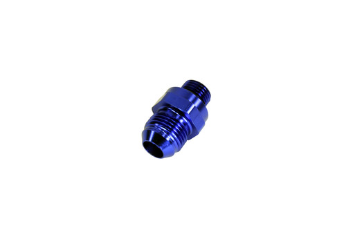 AEM -6AN to -8AN Discharge Fitting with Check Valve for Inline Hi Flow Fuel Pump