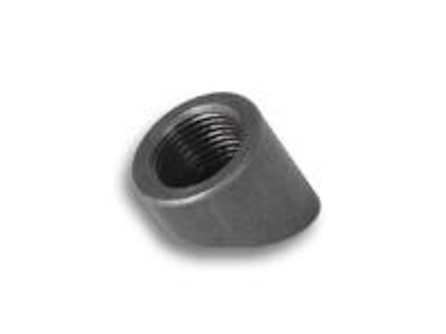 Exhaust Bungs 30 deg angled O2 Sensor Bung, M18 x 1.5 Female Thread - 304 Stainless Steel (Bulk Pack of 5 pcs. per bag)