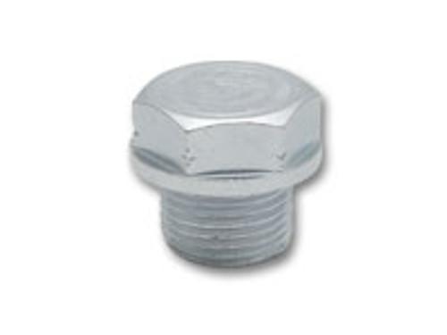 Vibrant Performance Threaded Hex Bolt for Plugging O2 Sensor Bungs (Bag of 5) Hex Head O2 Bung Plug, M18 x 1.5 Male Thread, Zinc Plated Mild Steel (Bulk Pack of 5 pcs per Bag)