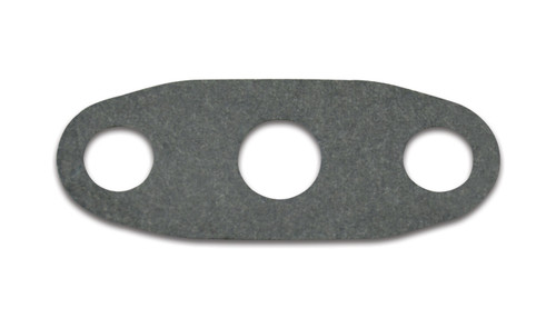 Vibrant Performance Oil Drain Flange Flat Gasket to match Vibrant PN 2849 and 2850  Introducing the Vibrant line of replacement oil drain gaskets. These gaskets are designed to keep your turbocharger leak-free and are compatible with our full Oil Drain Flange series.