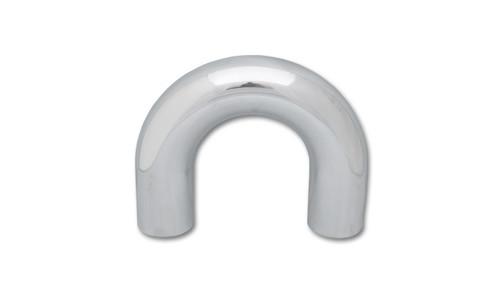 """3"""" O.D. Aluminum U-Bend - Polished  6061 Aluminum  Tube OD: 3"""" CLR: 4.5"""" Leg Length: 2.5"""""""