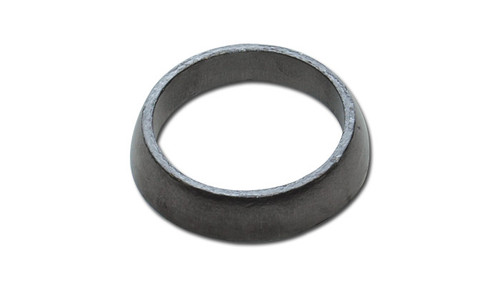 """Vibrant Performance Exhaust Gasket, Donut Style - 2.53"""" Slipover ID x 3.37"""" Gasket OD x 0.50"""" Tall - Graphite"""
