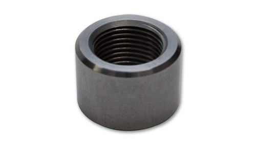 "Weld Bing Female 1/8""-27NPT T6061 Billet Aluminum (3/4"" OD)  Vibrant Weld Bungs are ideal for use with Aluminum Radiators, Oil Pans, custom tank fabrication or any other project that requires custom plumbing. All Bungs Sold Seperately."