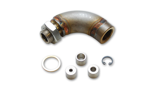 Vibrant Performance J-Style Oxygen Sensor Restrictor Fitting with Adjustable Gas Flow Inserts