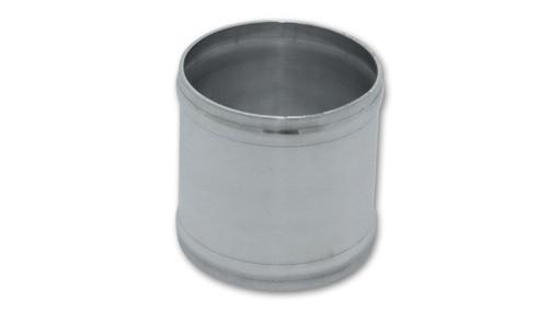 "Joiner Coupling 2.5"" OD Aluminum (3"" Long) 6061 Billet Aluminum"