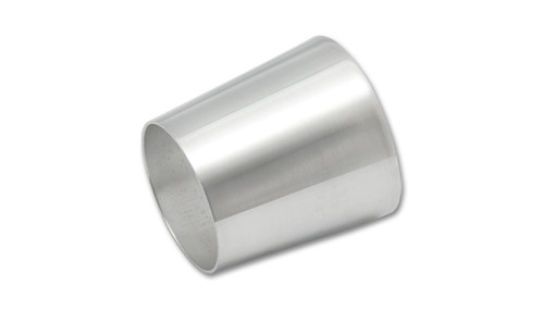 "Transition tube Aluminum, 2"" x 2.5"" x 3"" Long 6061 Aluminum"