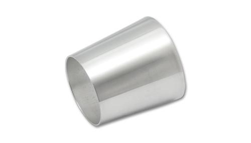 "Transition tube Aluminum, 2.5"" x 3"" x 3"" Long 6061 Aluminum"