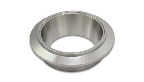 "Turbo Outlet Flange (V-Band style) for Garrett GT/GTX42 and GT/GTX45 - 304 Stainless Steel  Thickness: 1.33"" Flange OD: 4.60"" Designed for 3.50"" OD Tubing Tapered outlet to turbine wheel diameter"