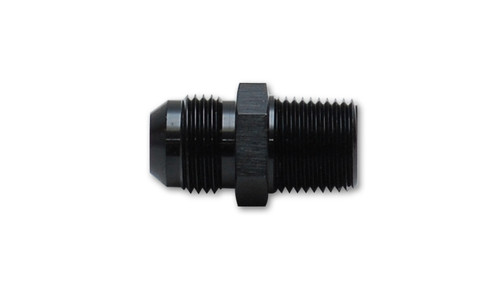 """Vibrant Performance Straight Adapter Fitting; Size: -8AN x 3/4"""" NPT"""