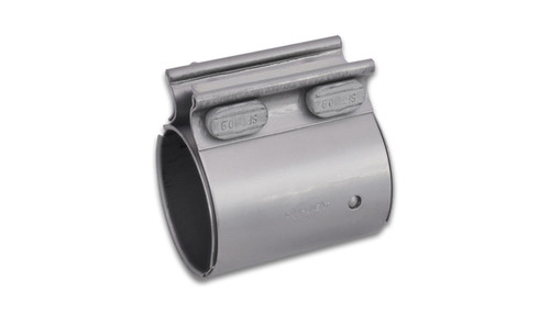 """TC Series High Exhaust Sleeve Clamp for 3"""" O.D. Tubing 430 Stainless Steel Genuine Torca TC Series Exhaust Couplers Allow for very secure sealing of butt-joint connections."""