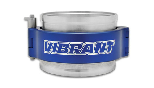 """Vibrant Performance HD Clamp System Assembly for 2.5"""" OD Tubing - Blue Clamp"""