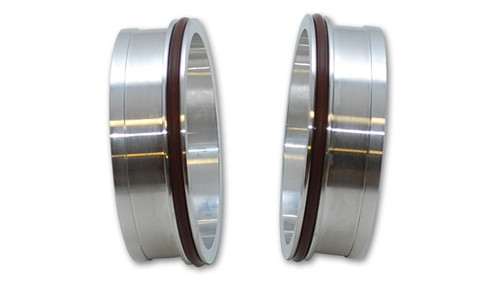 """Vibrant Performance Vanjen Aluminum T6061 Weld Ferrules with O-Rings for 2.5"""" OD Tubing - Sold in Pairs"""