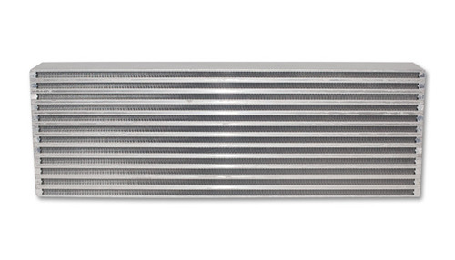 """Intercooler Core; 24""""W x 8""""H x 3.5"""" Thick  6061 Aluminum  Core Width: 24"""" Core Height: 8"""" Core Thickness: 3.5""""  Approx. HP Rating for this intercooler: 600 HP Bar and Plate Construction"""
