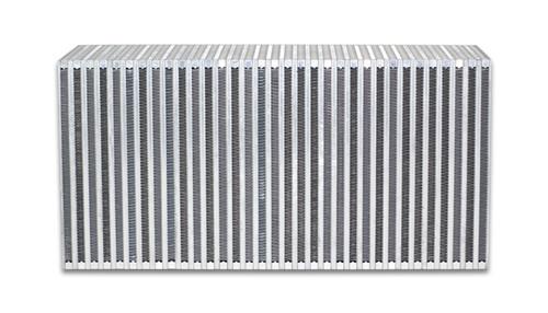"Vibrant Performance Vertical Flow Intercooler; 22""W x 11""H x 6"" Thick"