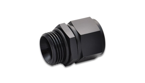 Vibrant Performance -6AN Female to -6AN Male Straight Cut Adapter with O-Ring