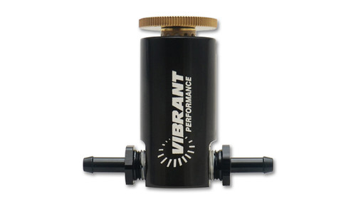 Manual Boost Controller - Anodized Black  - 6061 Billet Aluminum with black anodized finish for corrosion protection. - Includes removable fittings for servicing and reference line upgrades. - Includes low pressure check valve for use on MAF equipped applications to prevent stalling at idle. - Large premium grade Brass adjustment knob to increase or decrease boost pressure. - Can be mounted nearly anywhere with included mounting bracket. - Included 4 feet of silicone vacuum hose, zip ties and installation instructions.  TECH TIP If your vehicle is MAF equipped or you hear excessive noise from the Boost Controller during operation, you may opt to install the Low Pressure Check Valve that is included with your new Vibrant Performance MBC. Install the Check Valve on the Charge Tube Side of the boost controller as it is a flow directional accessory.