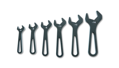 Vibrant Performance AN Wrench Set, -4AN to -16AN - Anodized Black