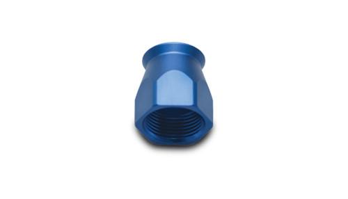 Vibrant Performance Hose End Socket for PTFE Hose Ends; Size: -10AN (Blue)
