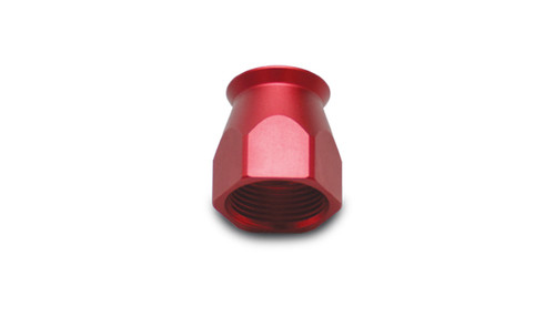 Vibrant Performance Hose End Socket for PTFE Hose Ends; Size: -10AN (Red)