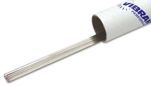 """Vibrant Performance Weld Rod, TIG Wire Stainless ER308L - 0.035"""" Thick (0.9mm) - 39.5"""" Long Rod - 1lb box"""