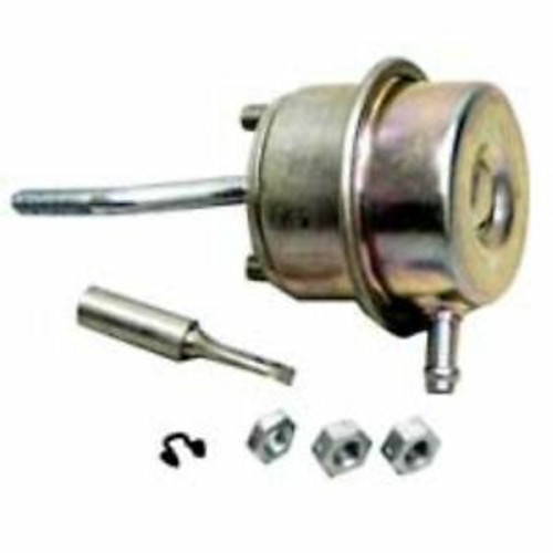 Kit-Actuator. For use with 739548 turbos with hose conection on compressor housing. Actuator part number 480009-0009. The kit includes, actuator, rod end, jam nut, lock nuts, and retaining ring. Actuator pressure 0.92 bars ( 13.4 psi )
