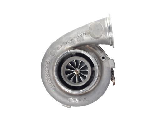 Garrett GTX4294R Super CoreForged, fully-machined 11-blade compressor wheel. Dual ball bearing. Ported shroud compressor housing to increase surge resistance. Compressor side: Trim 56 A/R 0.60 Turbine side: Trim84