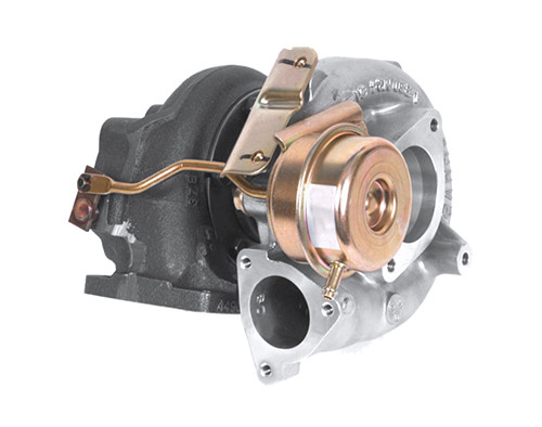 """Garrett GT2560R Turbo - Dual ball bearing, oil & water-cooled CHRA; Internally wastegated turbine housing complete with actuator; Turbine housing is cast from high-nickel """"Ni-Resist"""" material (466541-5001S only); Turbine wheel is cast from """"Inconel"""" materialfor extreme aplications (466541-5004S only); OEM turbocharger on Nissan SR20DET engine; Upgrade for GT2554R (471171-5003S), ountline interchangeable except compressor inlet."""