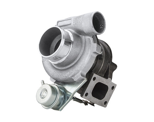 Garrett Turbo GT2871 - Dual ball bearing, oil & water-cooled CHRA; Internally wastegated turbine housing. Upgrade turbocharger for GT2860RS (739548-5001S). Compressor side: TRIM 52 A/R 0.60. Turbine side: TRIM 78 A/R 0.64 - T25/5-bolts - Wastegated. Bearing housing: Oil & water cooled system. Actuator not include, turbo with actuator is 836026-5012S.