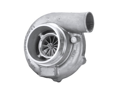 Supercore GTX2971R - Forged, fully-machined 11-blade billet compressor wheel. Ceramic Dual Ball bearing. Ported shroud compressor housing to increase surge resistance. Sold without turbine housing; Compressor side: TRIM 58 A/R 0.60; Turbine side: TRIM 90