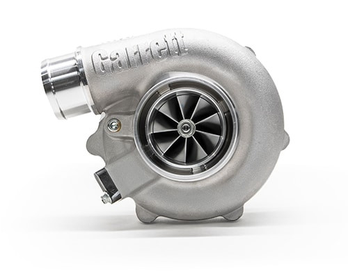 """Garrett G25-660 Turbo Assembly Turbine Housing V-Band/V-Band, A/R 0.92 Reverse Rotation Horsepower:350 - 660HP Displacement:1.4 - 3.0L  Garrett®G Series Compressor Aerodynamics for maximum HP. Fully machined Speed Sensor and pressure ports. New Turbine Wheel Aero constructed of MAR-M alloy rated 1055ºC. Stainless Steel wastegated and non wastegated turbine housing option capable of 1050°C. Oil restrictor and water fittings included.  Compressor side: TRIM 65 A/R 0.70  Compressor Air Inlet: Hose 3""""  Compressor Air Outlet: Hose 2""""  Turbine side: TRIM 84 A/R 0.92  Turbine Inlet: V-Band 3  Turbine Outlet: V-Band 3.55"""""""