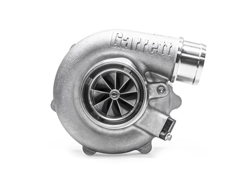 """Garrett G30-660 Turbocharger Assembly, Turbine Housing V-Band/V-Band A/R 0.61 Horsepower:350 - 660HP Displacement:2.0 - 3.5L Garrett®G Series Compressor Aerodynamics for maximum HP. Fully machined Speed Sensor and pressure ports. New Turbine Wheel Aero constructed of MAR-M alloy rated 1055ºC. Stainless Steel wastegated and non wastegated turbine housing option capable of 1050°C. Oil restrictor and water fittings included. Compressor side: TRIM 65 A/R 0.70 Compressor Air Inlet: Hose 3"""" Compressor Air Outlet: Hose 2"""" Turbine side: TRIM 84 A/R 0.61 Turbine Inlet: V-Band 3"""" Turbine Outlet: V-Band 3.55"""""""