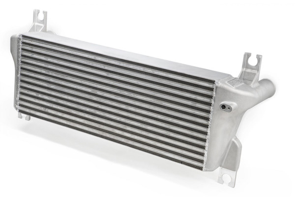 Intercooler Ford Ranger PXII 2011-2019 Supports up to 499 kW 218% larger core than stock Installs in stock location Cast aluminum end tanks Advanced offset fin design Bar-and-plate construction