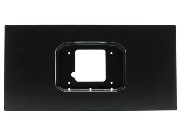 """Universal vacuum formed ABS Panel - Formed to allow for the flush fit of a CD-7 Display when used with supplied softmounts. Panel is 10"""" Tall and 20"""" wide and ideal for when fitting an AEM CD-7 into an OEM cluster opening or into a customer dashboard Flush Mount Panel Features: • Available for CD-5 & CD-7 Carbon Dashes, both Original and Flat Panel versions • Made from automotive-grade ABS plastic • Pre-drilled mounting holes for CD Carbon Dash for perfect orientation • Automotive wrinkle finish and paintable surface for additional customization • 20"""" L x 10"""" T x 2"""" D, 1.0 lbs."""