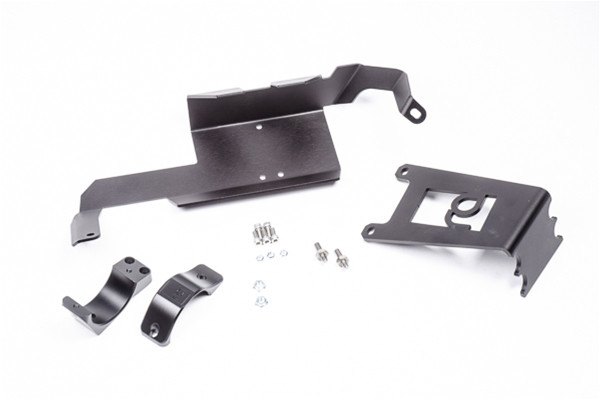 "Radium Fuel Filter Mount Kit, Nissan R35 GT-R Features -Uses Threaded Bosses in OEM Chassis -No Permanent Modifications Required -Billet Anodized Aluminum Clamps -Clamp Diameter: 60mm (2.36"") -Stainless Steel Hardware"
