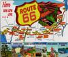Vintage 66 Map Mousepad