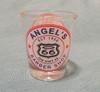 Angel's Barber Shop Shot Glass