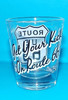 """Get Your Kicks on Route 66"" Back of Shot Glass"