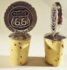 Get Your Kicks on Route 66 Bottle Stopper