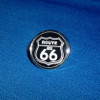 Black Route 66 Pin