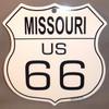 8 State Shield Set - Missouri US 66
