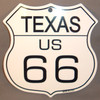 8 State Shield Set - Texas US 66