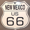 8 State Shield Set - New Mexico US 66
